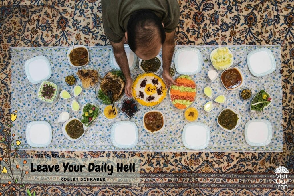Robert Tells Us about Their Favorite Persian Food