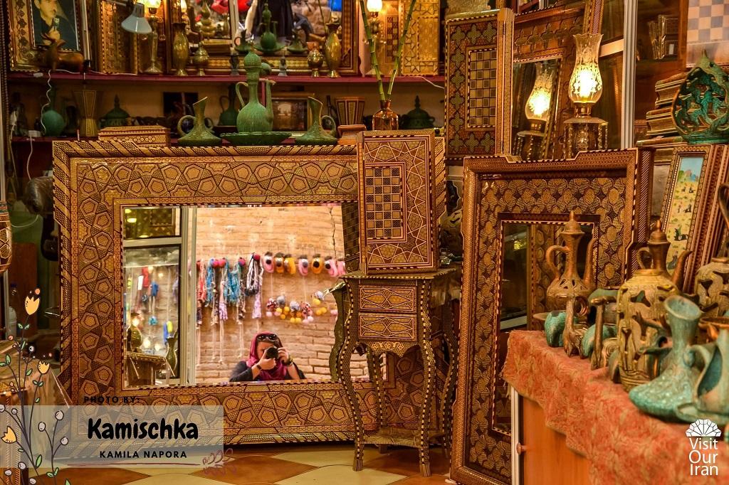 Kamischka in Iran
