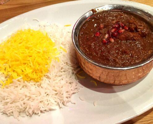 Fesenjan (Pomegranate) Stew