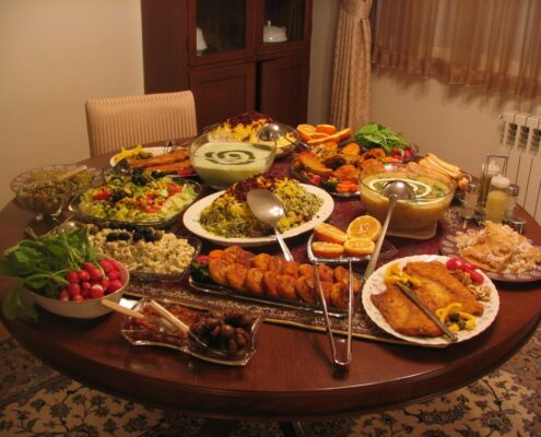 A Persian Table