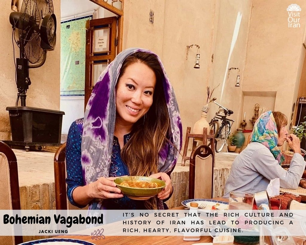 Jacki Ueng Tells Us about Her Favorite Persian Food