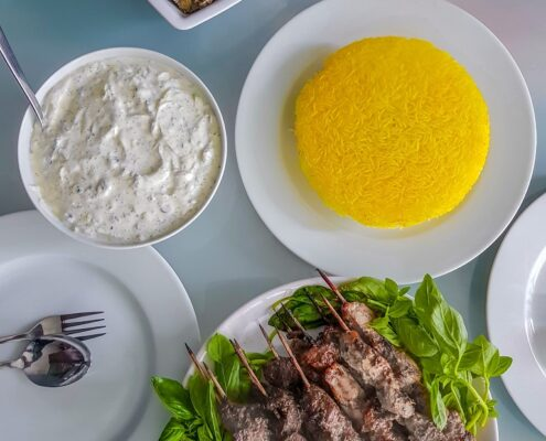 Kebab, One of the Traditional Dishes in Iranian Culture