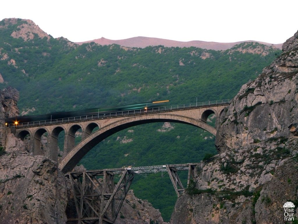 The trans-Iranian Railway Routes